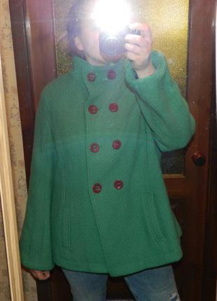 Роскошное шерстяное пальто