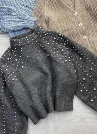 Крутой тёплый свитер