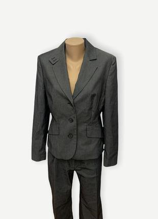 Женский классический костюм пиджак брюки классические