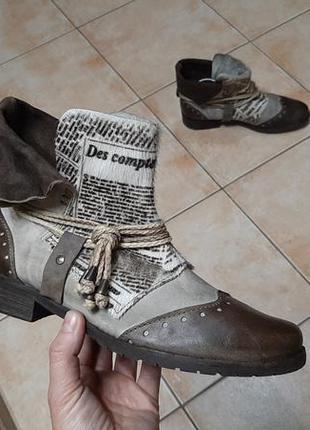Кожаные сапоги,ботинки,италия