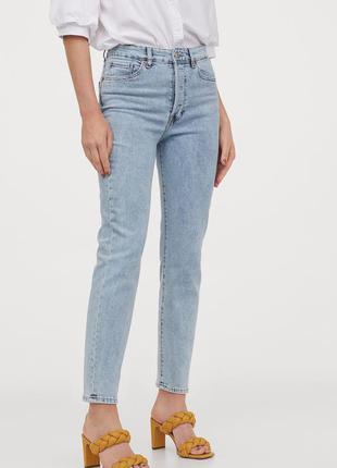 Новые джинсы мом, момы h&m