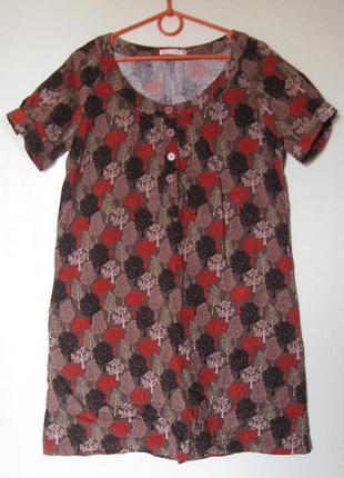 Платье с карманами микровельвет