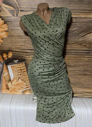 Обалденное стрейчевое платьице размер s