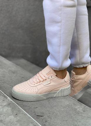 Puma cali 🍏 стильные женские кроссовки пума кали