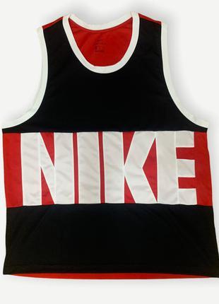 Майка футболка мужская nike спортивная винтаж оригинал красная