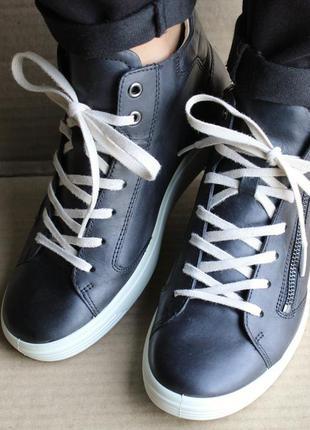 Ботинки ecco soft 7 430343 оригинал натуральна кожа
