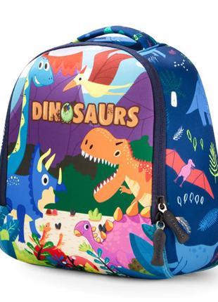 Детский рюкзак динозавры для мальчика 2.5-5 лет