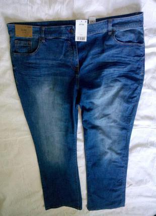 Классные джинсы большого размера стречевые