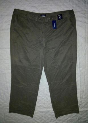 Широкие стильные брюки штаны батал