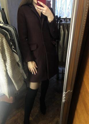 Пальто бойфренд на осень