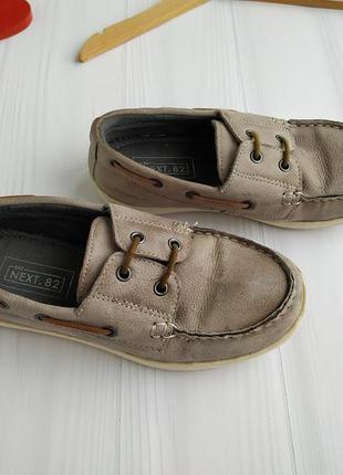 31 р. туфли мокасины next