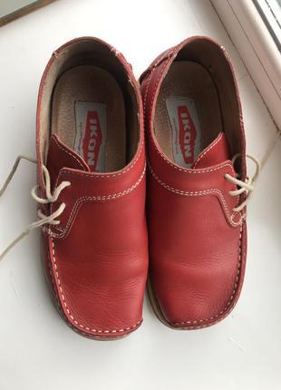Удобные туфли из высококачественной кожи ikon