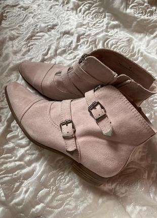 Ботинки казаки.