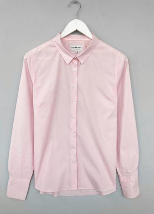 Сорочка рожева класична l m, розовая классическая рубашка