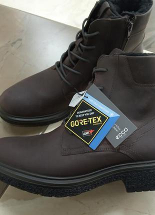 Ботинки черевики ecco, goretex, р.43