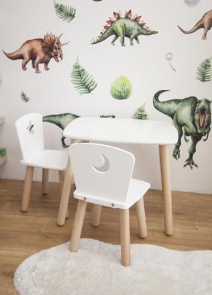 Детский столик и 2 стульчика tatoy star & moon для детей 2-4 лет