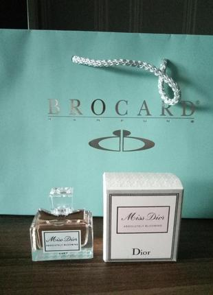 Dior miss dior absolutely blooming миниатюра 5 мл