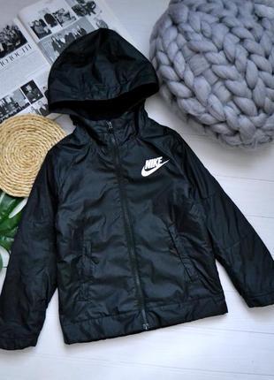 Куртка на флисе nike 4-6лет