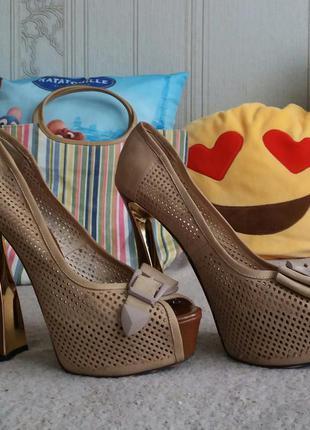 Туфлі mallanee леопардовий принт
