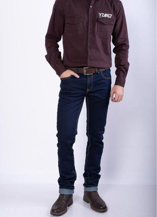 Мужские синие джинсы рр 30-40