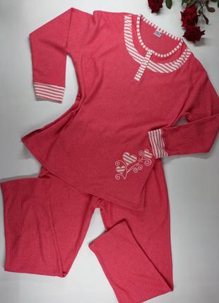Ніжна жіноча піжама metin 5754