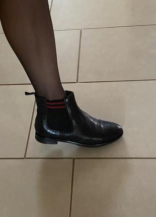 Ботинки кожаные демисезонный вариант размер 38