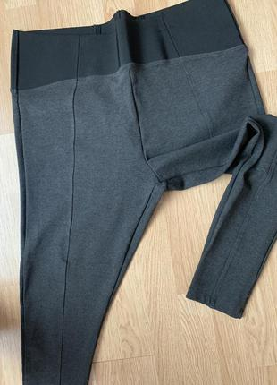 Спортивные вискозные брюки легинсы 52-54