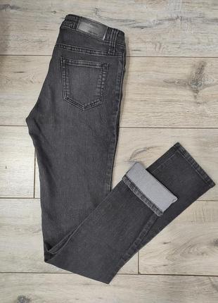 Жіночі чорні джинсові брюки джинсы от денима grip