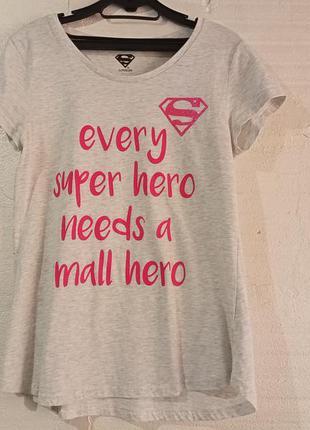 Супер футболка удлинненая s