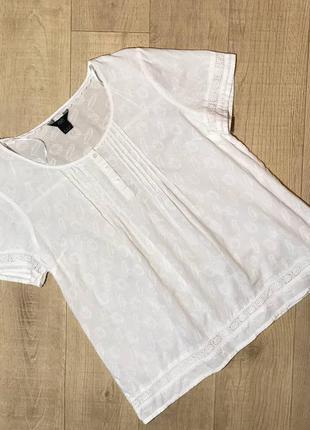 Нежная блуза футболка 100% хлопок f&f