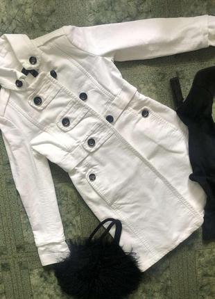 Пальто стильное mango