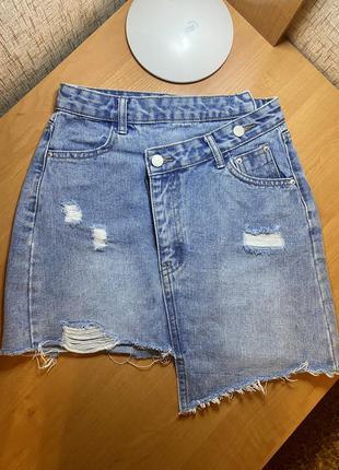 Продам джинсовую юбочку