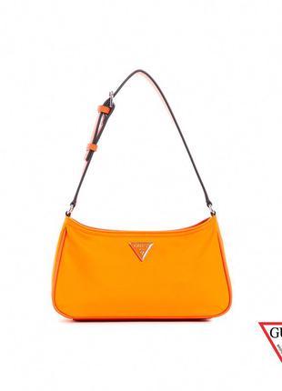 """💥нейлоновая сумка guess """"little bay shoulder bag guess""""💥успей купить!"""