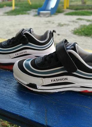 Кросівки y-top на хлопчика р-ри 34-35, устілка 20.8-21.5 см