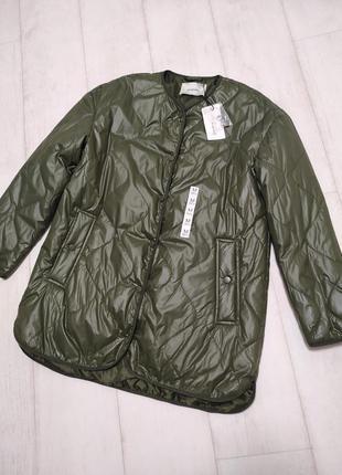 Стильная стёганная куртка stradivarius