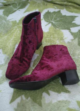 36 размер mng ботинки сапожки полу сапожки ботильоны бархат бархатные
