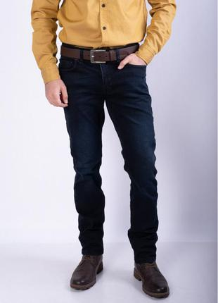 Мужские темно-синие джинсы рр30-38