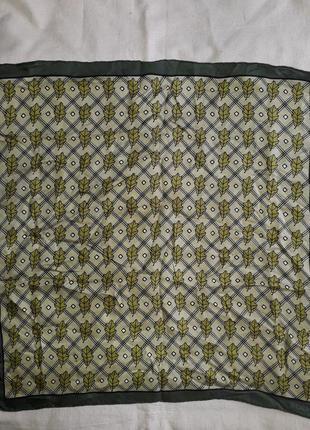 Rochas paris винтаж винтажный платок
