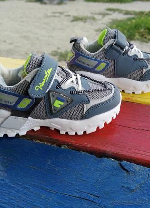 Стильні кросівки cbt для хлопчика. р-р 28, устілка 17 см