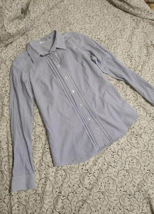 Рубашка полосатая рубашка