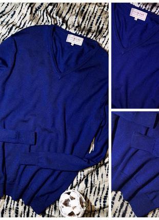 Пуловер 100% шерсть мериноса m-l