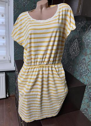 Красивое летнее платье размер 50-54.