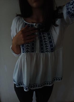 Вишита блуза (pepe jeans)