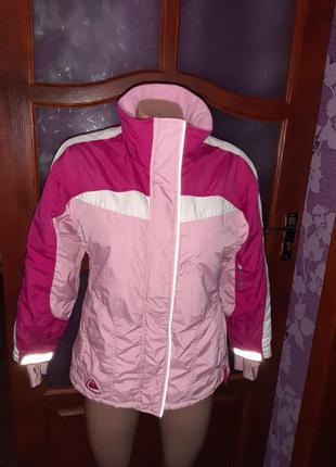 Термо куртка лыжная зимняя куртка фирменная