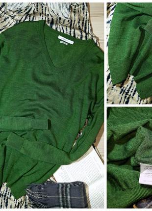 Пуловер 100% шерсть мериноса l