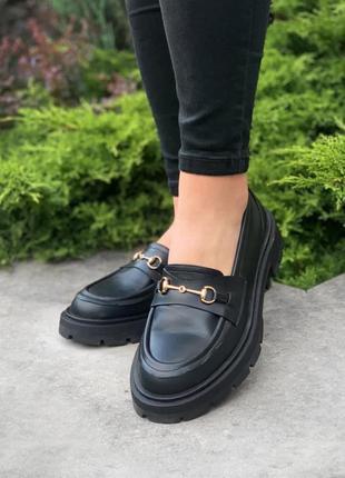 Лоферы loafers horsebit