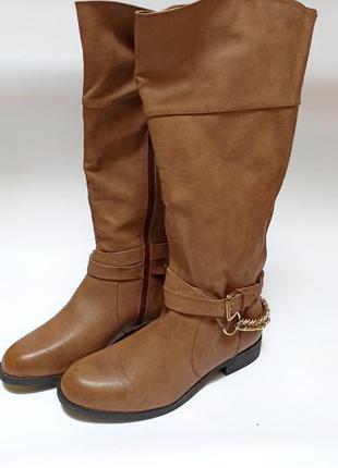 Стильные сапоги new look.брендове взуття stock