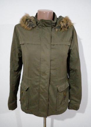 Тепла куртка парка маленький розмір або підліток