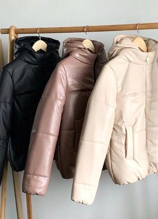 Куртка из эко кожи🖤