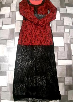 Платье в пол, нарядное, вечернее